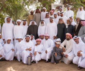 """"""" عود الراحة"""".. قصة زيارة ولي عهد أبوظبي لمنطقة زارها الشيخ زايد من 41 عاما (صور)"""