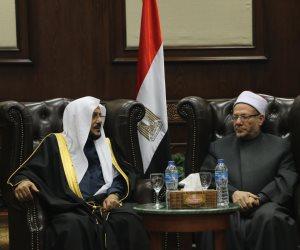 لتعزيز التعاون الديني.. مفتي الجمهورية يستقبل وزير الأوقاف السعودي والوفدَ المرافق له