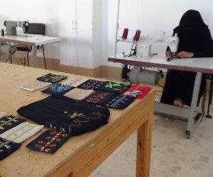 المشغولات اليدوية تحافظ على التراث البدوي في أرض مطروح (صور)