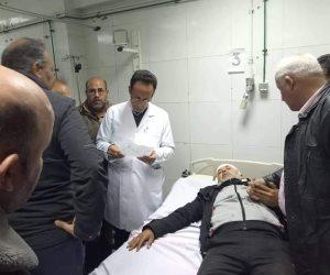 «شوشة» يكرم موظف بمجلس مدينة العريش تعرض للاعتداء خلال حملة إزالات بحي المساعيد (صور)