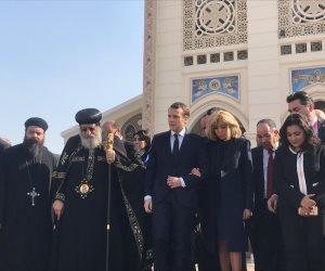البابا تواضروس: علاقات قوية وممتدة بين الشعبين المصرى والفرنسى فى كل المجالات