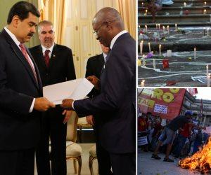 جولة عالمية مصورة: مظاهرات البرازيل الغاضبة واحتجاجات الأرجنتين.. وأزمة فنزويلا مستمرة