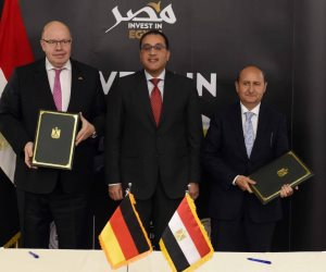 رئيس الوزراء يشهد توقيع إعلان مشترك لتعميق العلاقات التجارية والاقتصادية بين مصر وألمانيا