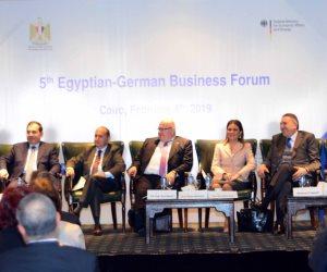 وزير الاقتصاد الألماني: حريصون على زيادة استثماراتنا في مصر