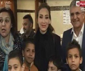 ريهام سعيد تطلق مبادرة لعلاج 100 طفل مصرى مصاب بمرض القلب