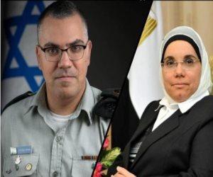 """ماذا قال متحدث الجيش الإسرائيلي عن تشابه صورته مع مساعدة المعزول """"مرسى""""؟"""