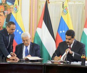 ردّ الجميل.. لماذا أعلن الرئيس الفلسطيني دعم «مادورو» من منصة الاتحاد الأفريقي؟