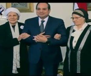 الرئيس الإنسان.. السيسي يعيد للمرأة المصرية مكانتها بعد سنوات من التهميش (فيديو)