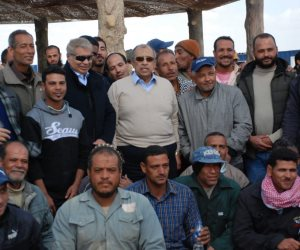 زيارة أبوستيت تنهي الشائعات.. مشروع غرب المنيا استثماري زراعي واعد