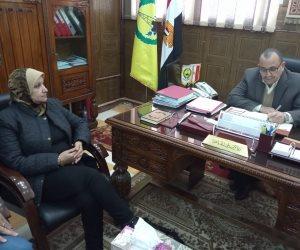 نائب محافظ شمال سيناء: الدولة لا تدخر جهد في تطوير القطاع الصحي بالمحافظة (صور)