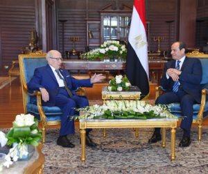 الرئيس السيسي يستقبل نظيره التونسى بشرم الشيخ