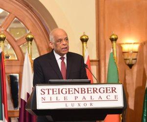 رئيس البرلمان من الأقصر يفتح ملف تمويل العناصر الإرهابية لتخريب المنطقة
