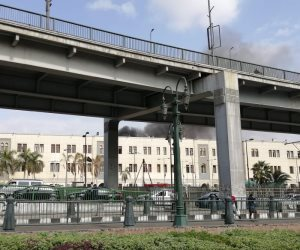 السكة الحديد: إصابات ووفيات فى حادث انحدار جرار واصطدامه برصيف محطة مصر