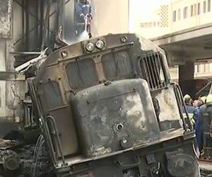 بث مباشر ..حادث قطار محطة رمسيس بالقاهرة