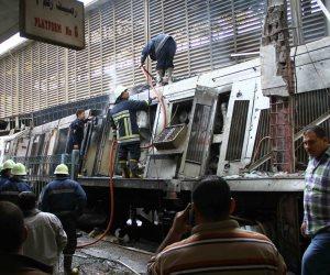 التلفزيون المصري: 20 قتيلا ونحو 40 مصابا في حادث محطة مصر