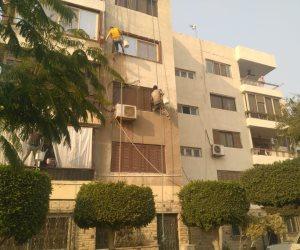 جنوب القاهرة يدخل على خط التجميل بالطلاء الموحد