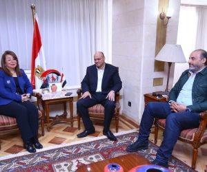 غادة والي توافق على فتح التأمينات للصحفيين المغلقة صحفهم