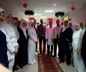 افتتاح قسم الاقتصادي المميز المطور بمستشفى العريش العام (فيديو)