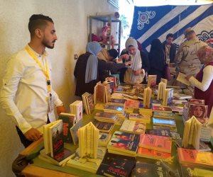 بمشاركة 2300 كتاب و10دور نشر.. افتتاح أول معرض كتاب بشمال سيناء (صور)