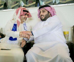 الوليد بن طلال يشيد بنهوض آل الشيخ بالرياضة السعودية: قبله كانت في «الحضيض» (فيديو)