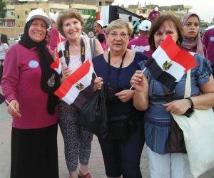برلمان طلائع مصر يرسل رسائل سلام وأمان من الاقصر للعالم (صور)