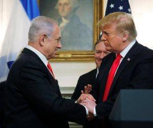 ضربتان في يوم واحد.. أمريكا تعترف بسيادة تل أبيب على الجولان والأخيرة تقصف غزة