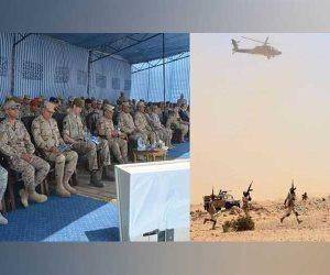 ختام فعاليات التدريب المصري البريطاني المشترك «أحمس-1»