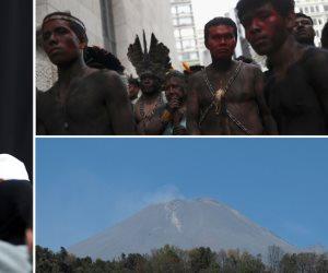 جولة في صحف العالم: ثوران بركان «بوبوكاتبتبيل» بالمكسيك الأبرز
