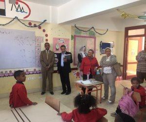«تعليم البرلمان» تتفقد الفصول الدراسية في أسوان.. لهذه الأسباب (صور)