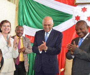 الساحرة المستديرة تسيطر على السياسة.. حكايات كرة القدم بين «عبدالعال» ورئيس بوروندي