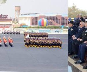 وزير الدفاع يشهد حفل تخريج الدفعة 155 من كلية الضباط الإحتياط