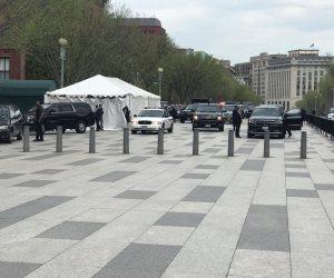 الرئيس السيسى يصل مقر إقامته في العاصمة واشنطن