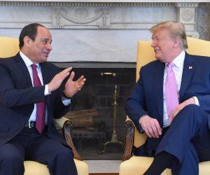 قمة الشراكة.. السيسي: العلاقات المصرية الأمريكية في أفضل حالاتها منذ عقود