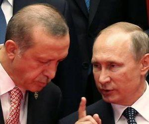 فضيحة يكشفها كاتب تركي.. سر توبيخ بوتين لـ «أردوغان»