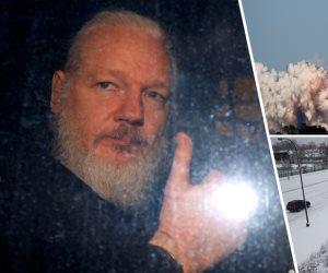 جولة في صحف العالم: اعتقال مؤسس ويكيليكس وعواصف أمريكا الثلجية الأبرز