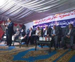 برلماني يؤكد: «الرئيس السيسي مش عايز يقعد واحنا اللي ماسكين فيه»