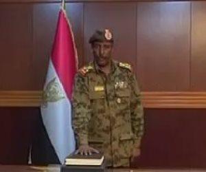 وصول رئيس المجلس العسكري الانتقالي السودانى إلى القاهرة