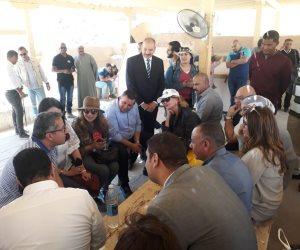 """""""مصر الحضارة"""".. وفد برلمانى يزور المقابر الأثرية بالأقصر (صور)"""