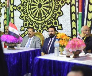 نجوم الزراعة والفن والرياضة يشاركون في مؤتمر حاشد لدعم التعديلات الدستورية بالبحيرة (صور)