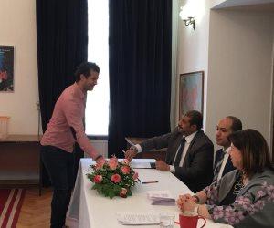 المصريون في روسيا يدلون بأصواتهم في الاستفتاء على التعديلات الدستورية (صور)