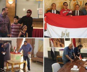 5 فيديوهات تكشف مشاركة كبيرة للمصريين بالخارج في استفتاء التعديلات الدستورية