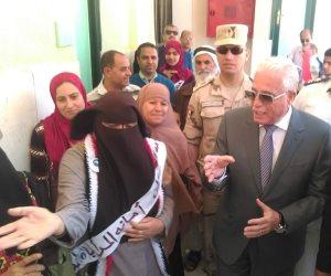 أهالي جنوب سيناء يشاركون في عرس الاستفتاء الديمقراطي (صور)