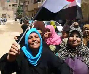 لليوم الثاني.. المواطنون يقبلون على اللجان الانتخابية بمدارس الوراق وأوسيم