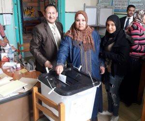 المرأة المصرية تسطر مجدا جديدا فى حياة الدولة المصرية احتفالا بالدستور الجديد (صور)