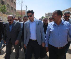 سكرتير عام مساعد محافظة الجيزة يتفقد لجان «استفتاء كرداسة» بصحبة سعيد حساسين