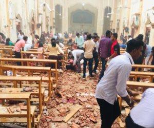 عشرات الجرحى في انفجارات بكنيستين وفندقين بسريلانكا (صور)
