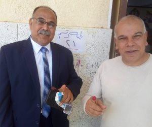 شاهد.. أسرة محمد صلاح تشارك فى الاستفتاء على التعديلات الدستورية