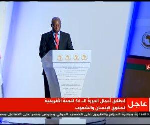 وزير العدل الزيمباوى: مستمرون فى التفاعل مع مسئولى حقوق الإنسان بأفريقيا