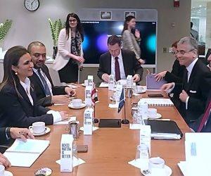 وزيرة الاستثمار: قرار البنك الدولي بمد اطار الشراكة مع مصر يركز على زيادة فرص العمل