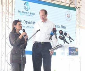 رئيس البنك الدولي: مشروع «بنبان» في أسوان يوازي 20% من مساحة واشنطن